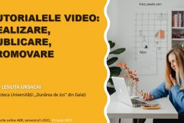 Curs privind realizarea tutorialelor video